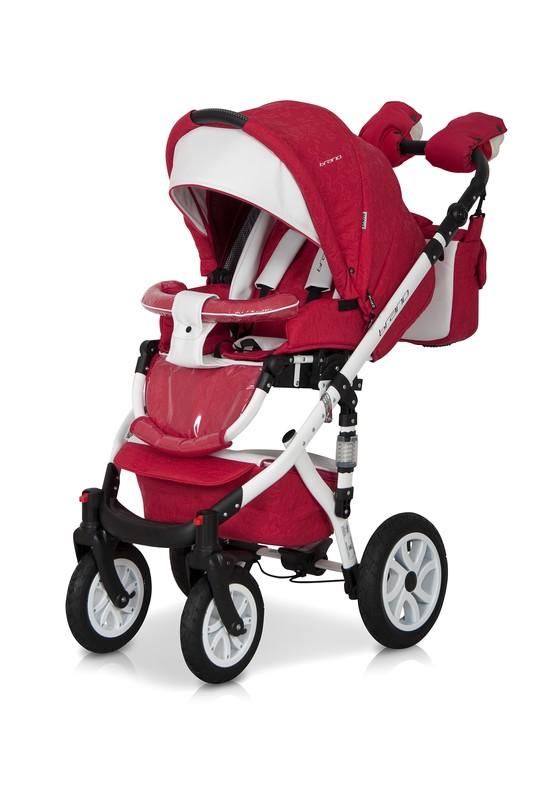 Коляска Riko Brano Ecco 2 в 1 цвет 20 Sport Red